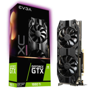EVGA – GEFORCE GTX 1660 TI XC ULTRA GAMING 6GB GDDR6 PCI EXPRESS 3.0 GRAPHICS CARD WITH DUAL HDB FANS